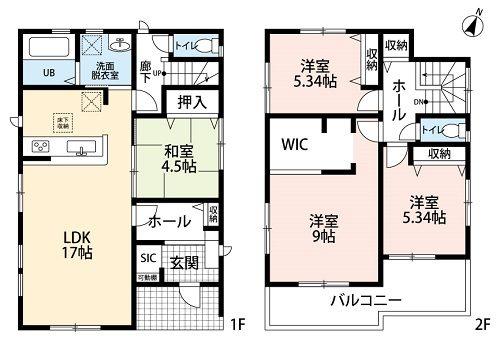 【新築住宅】岐阜市長良雄総第2 1号棟