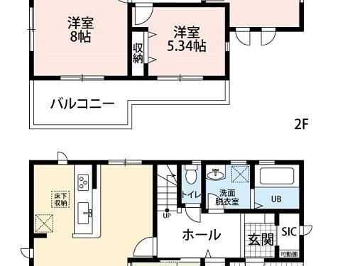 【新築住宅】岐阜市東鶉5丁目第3 1号棟