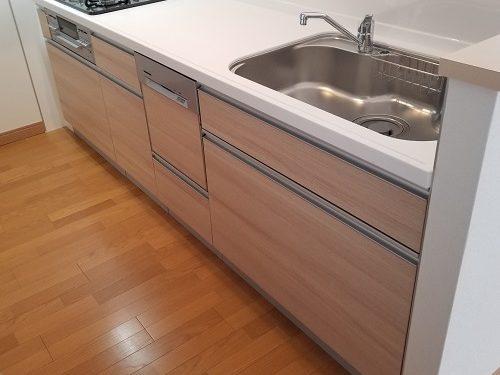 新品食洗器付きシステムキッチン