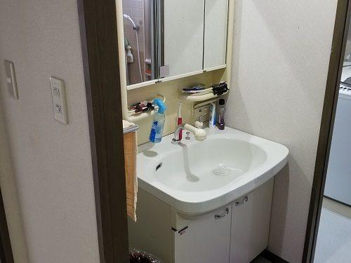 シャワー付き 洗面台